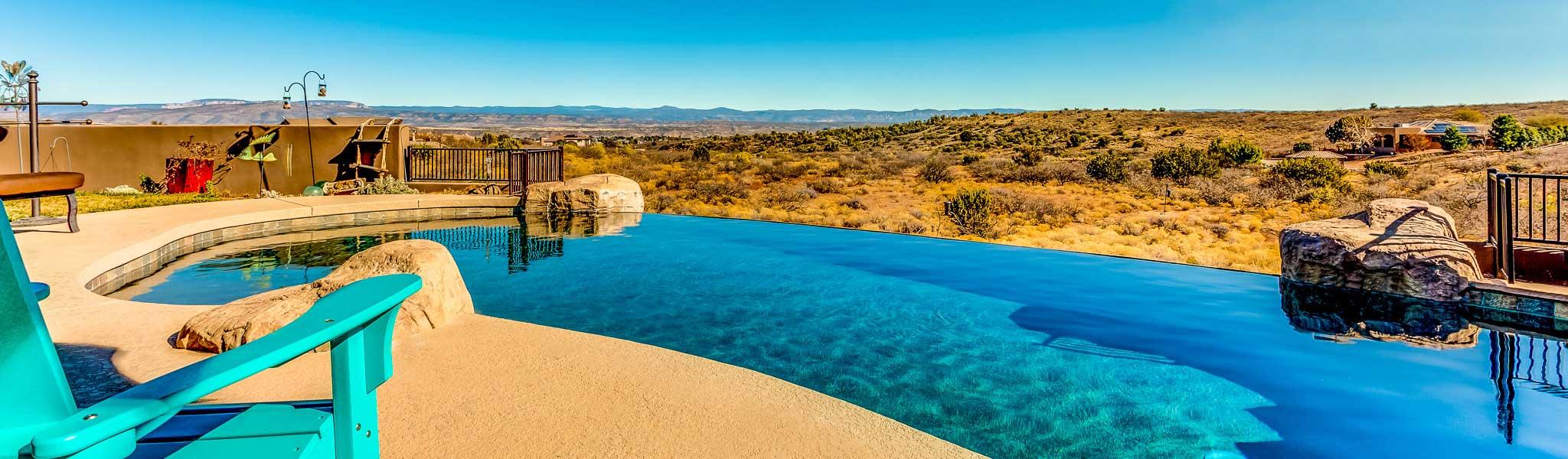 Jim Midkiff Custom Pools in Sedona Arizona